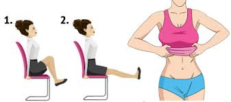 leg exercises at desk 10 simple exercises you can do while sitting down to burn fat
