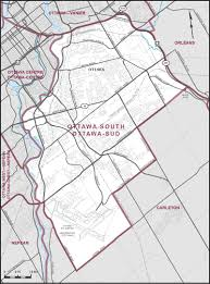 Map Of Ottawa Ottawa South Maps Corner Elections Canada Online