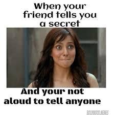 Secret Meme - meme when your friend tells you a secret