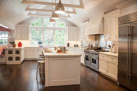 white kitchen cabinets with cathedral doors cathedral ceiling kitchen transitional kitchen smith