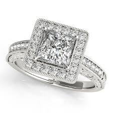 square style rings images Halo engagement ring bold square pretty princess cut diamond jpg