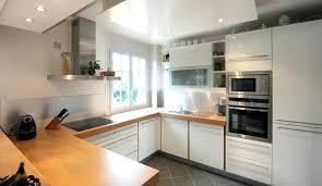 plan de travail cuisine blanc laqué cuisine blanc et bois agrable blanche laque plan travail newsindo co