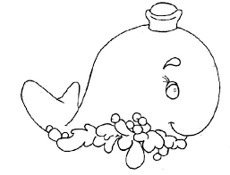 cute sea animals coloring pages