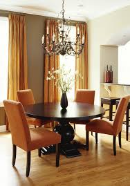 Sherwin Williams Ivory Lace Dining Room Contemporary With Drapes - Transitional dining room chairs