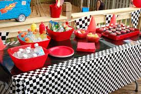 ideas deanna start your enginesitus a race car party backyard
