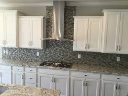 Sinclair Saddle Cabinets by Landen Painted White Cabinets Mi Homes Kitchen Cabinets