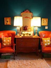 colorful fall home decorating ideas with amber u0026 rust lamps plus
