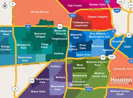 houston map districts houston neighborhoods houston map real estate homes