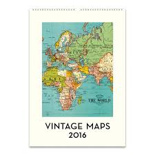 cavallini frames cavallini papers 2016 wall calendar vintage maps 13 x 19 eco