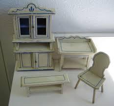 dollhouse furniture kitchen antique german kitchen gottschalk dollhouse miniature matching