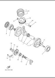 2002 yamaha wr250f wr250fp crankshaft u0026 piston parts best oem