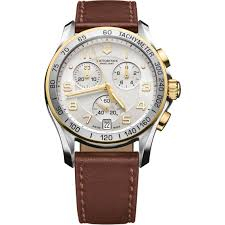 The Toasters Two Tone Army Victorinox Swiss Army Men U0027s Classic Two Tone Chronograph With