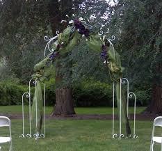 wedding arch garden wedding garden arches white iron arches country creations rental