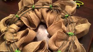 burlap wreaths how to make a burlap wreath