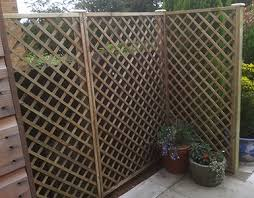 Fence Panels With Trellis Derbyshire Fencing Manufacture And Paving Supplies Fence