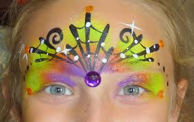 spiderweb crown halloween face painting youtube