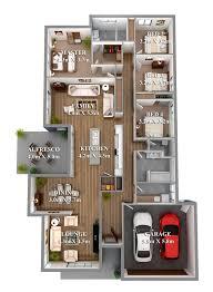 stunning 3d house plan photos transformatorio us