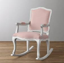 salem white rocking chair