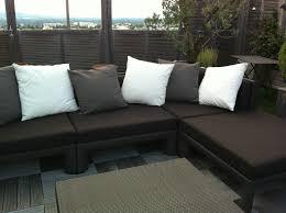 housse de coussin canapé housse de coussin canap inspirant housse canape sur terrasse atelier
