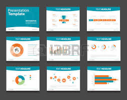 colorful infographic business presentation template set powerpoint