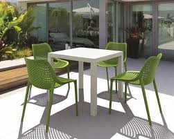 Patio Plastic Chairs by Outdoor Patio With Modern Plastic Furniture Outdoor Lightweight