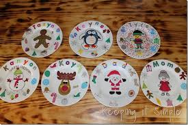 personalized dinner plate thanksgiving family tradition diy personalized thanksgiving