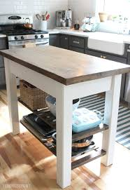 Kitchen Island Building Plans 8 Diy Kitchen Islands For Every Budget And Ability Blissfully With