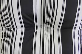 unique black and white striped patio cushions 26 for balcony