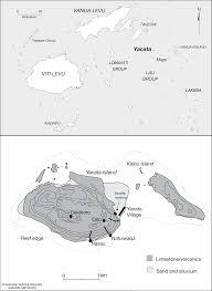 Fiji Islands Map Yacata And Kaibu Islands Cartogis Services Maps Online Anu