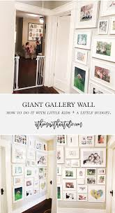 How To Make A Gallery Wall by Our Hallway Gallery Wall At Home With Natalie