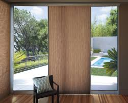 window treatments for sliding glass doors with vertical blinds