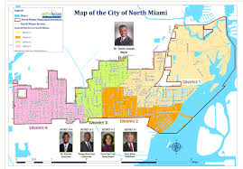 Florida Congressional Districts Map by City Of North Miami