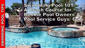 Swimming Pool 101 A Crash Course for Rookies  YouTube