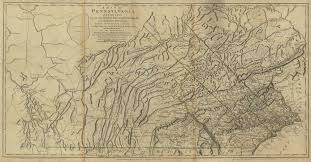 State Of Pennsylvania Map by Pennsylvania Maps Pennsylvania Digital Map Library Table Of