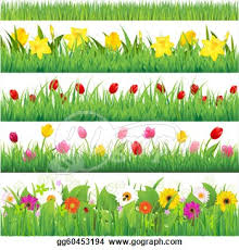 tulip clipart flower gardening pencil and in color tulip clipart