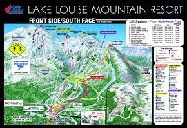 Utah Ski Resort Map by Lake Louise Canada Piste Map U2013 Free Downloadable Piste Maps
