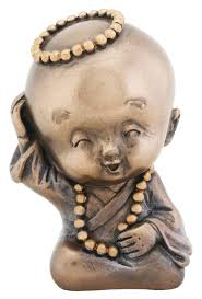 buddha child statues for garden and home decoration