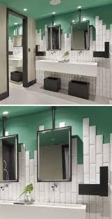 cool bathroom tile ideas bathroom tile design idea stagger your tiles instead of ending in