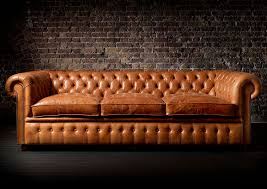 chesterfield sofa chesterfield sofa leather 3 seater brown william fleming