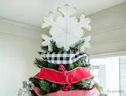 tree topper how to make a 3 farmhouse tree topper diy beautify