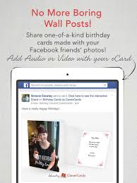 clevercards greeting cards u0026 ecards for facebook on the app store
