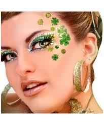 halloween makeup kits xotic eyes clover face piece makeup halloween kits