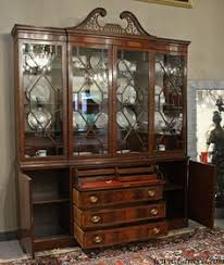 mahogany china cabinet furniture antique cabinets with glass doors antique mahogany breakfront