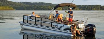 retreat series luxury sport pontoon boats lowe pontoons