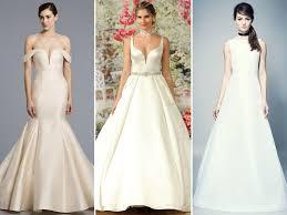 Wedding Dress Trend 2018 Top Wedding Dress Trends From Spring 2018 Bridal Fashion Week