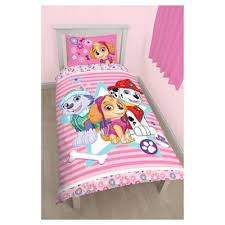 Tesco Bedding Duvet Buy Paw Patrol Pink Single Duvet Set From Our Single Duvet Covers
