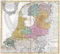 netherlands map images large scale map of netherlands 1748 netherlands