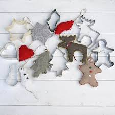 sweater cookie cutter upcycled sweater and cookie cutter ornaments hometalk