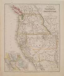 Map Of Nm Antique Maps Of New Mexico