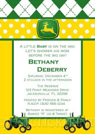 deere baby shower tractor deere baby shower invitation pink blue printable